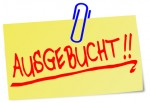 Ausgebucht Notiz Post It  #130919-svg09